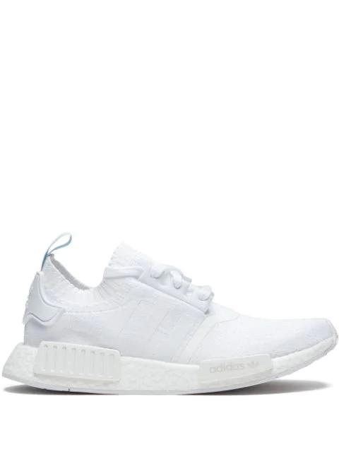 Adidas Originals Nmd R1 Pk Sneakers In White Modesens
