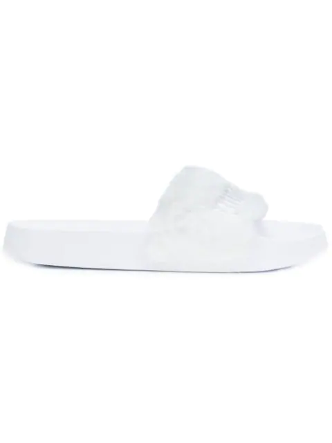 lowest price 3a5b1 dd22e Fenty Puma X Rihanna Slides in White