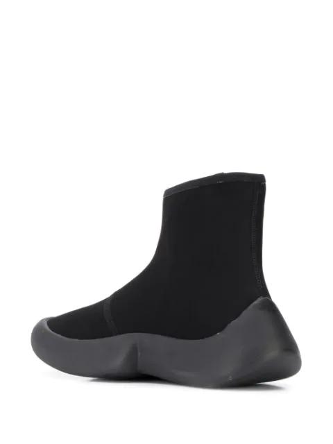 Details zu L) Luxus Designer CAMPER Stiefel Gr.36 Leder schwarz UVP609€ NEU Pelotas Alpine