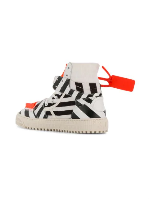 OFF-WHITE STRIPED 3.0 OFF-COURT SNEAKERS