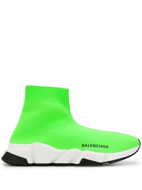 shoes for cheap sale retailer online for sale Speed Sock Trainers in 3801 Green