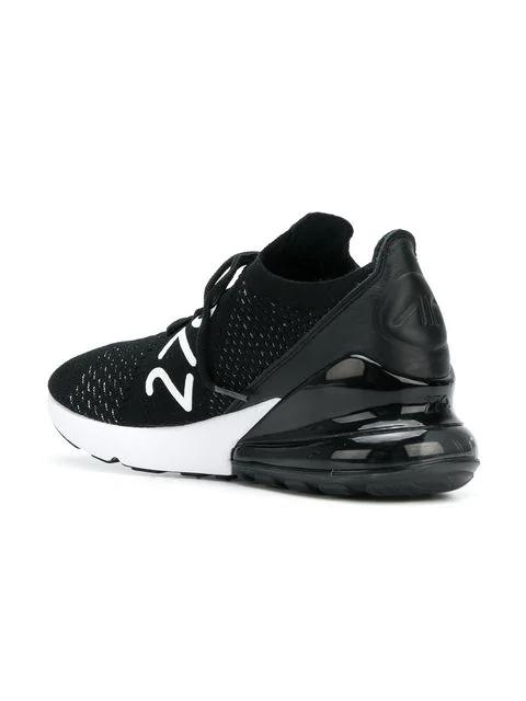 Air Max 270 Flyknit Sneakers in Black