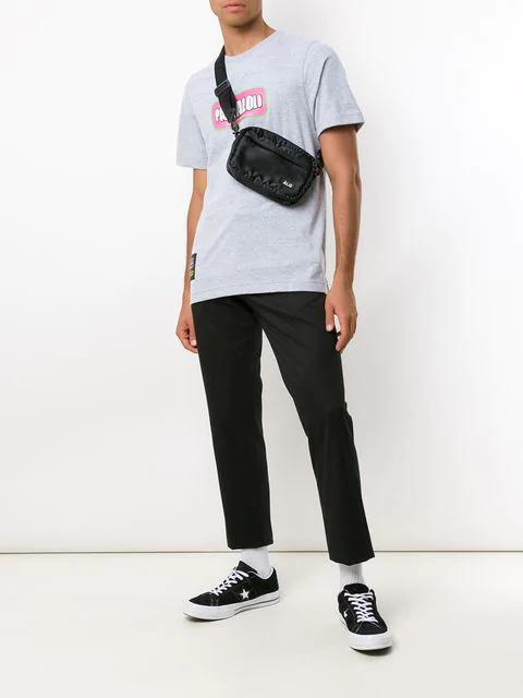 ÀLg Slogan Print T-Shirt - Grey