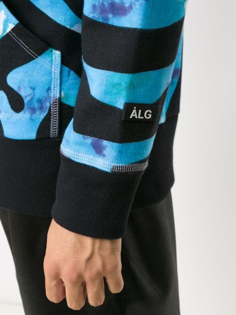 ÀLg X Hering Zipped Hoodie - Blue