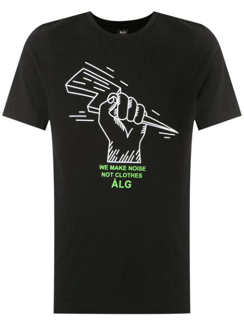 ÀLg Camiseta Make Noise - Preto In Black