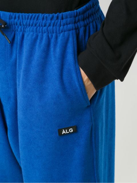 ÀLg Drawstring Waist Trousers - Blue