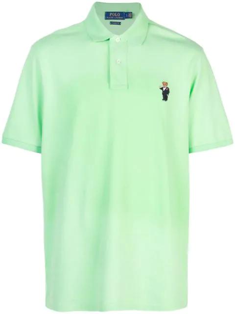 Polo Grün Shirt Lauren Martini In Bear Green Ralph 0nmNv8w