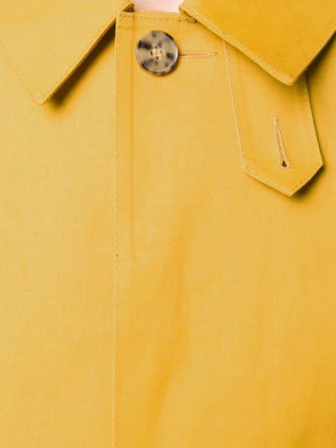 4df76ea8c Mackintosh Arrowood Bonded Cotton Short Coat Gr-002 - Idj127 Aw Yellow
