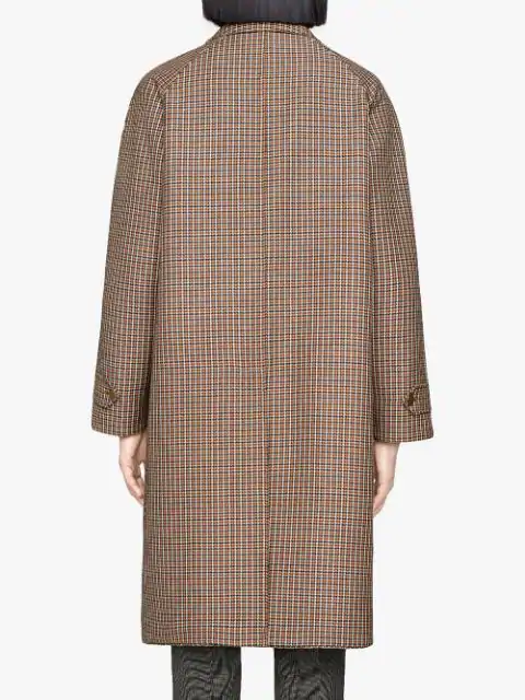 GUCCI REVERSIBLE WOOL COAT