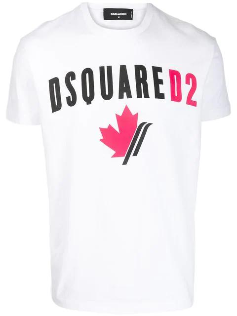 Cruyff Lluis Printed White Short Sleeve Printed Graphic Crew Neck T-shirt