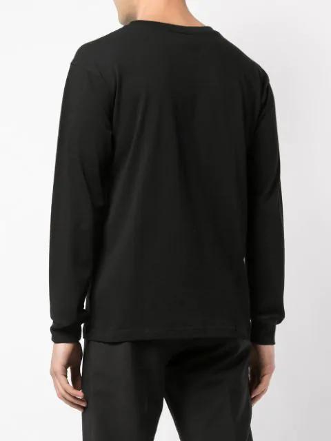 Yohji Yamamoto Black New Era Edition Cotton Long Sleeve T-Shirt