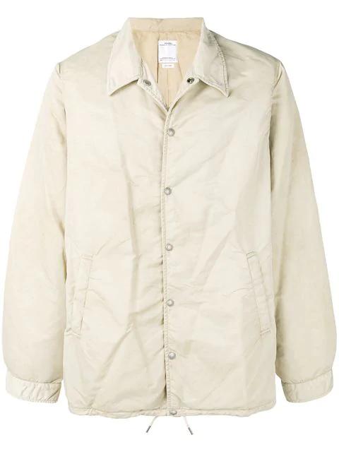 fd7e87555 Visvim Long-Sleeve Fitted Jacket - Neutrals