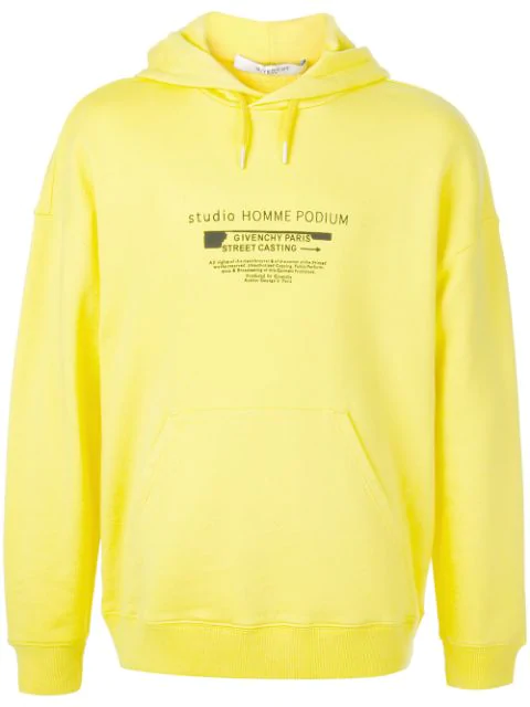 91d038d51e9a2 Givenchy Printed Loopback Cotton In Yellow | ModeSens