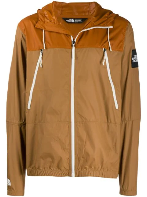 big sale d0f22 5333e The North Face Shell-Jacke Mit Kapuze - Braun in Brown
