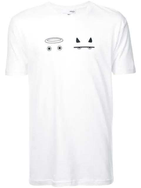 Shirt 'angel T Weiß In Devil' WhiteModesens Odin qSMVpzGU