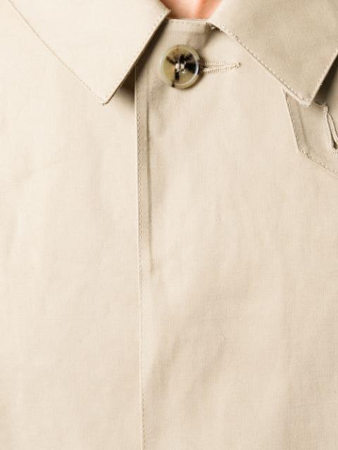 0398796e1 Mackintosh Fawn Bonded Cotton 3/4 Coat Gr-001 - Neutrals