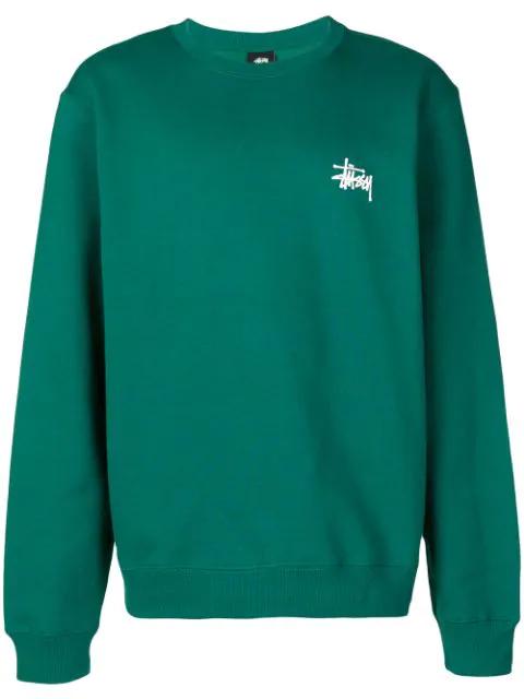 49903f2ae0 Stussy Logo Sweatshirt - Green