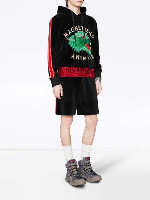 422bf335 Magnetismo Animale Chenille Sweatshirt in 1082 - Black Multi