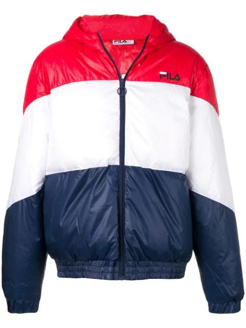 98f6cd3a4 Fila Reyton Hooded Jacket - Red
