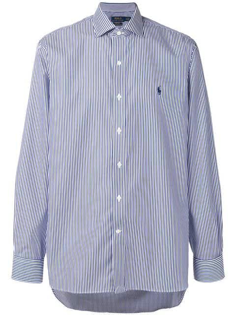 buy online 5c81a 5d696 Polo Ralph Lauren Hemd Mit Nadelstreifen - Blau in Blue