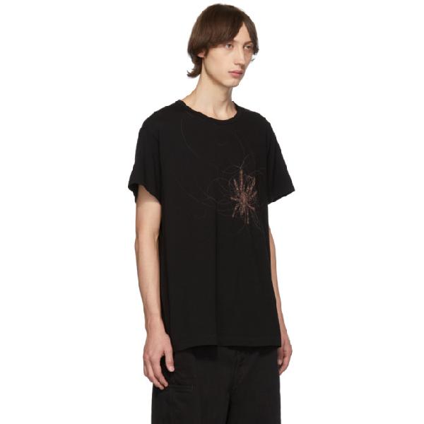 Yohji Yamamoto Black Spider T-Shirt