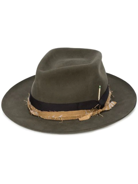 Nick Fouquet Exclusive Topanga Canyon Hat In Dark Moss