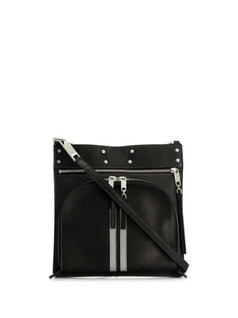 Mini Shoulder Bag In Black