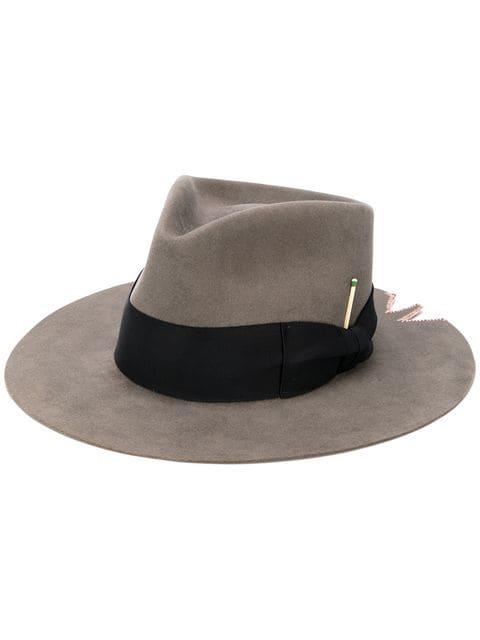 Nick Fouquet Felt Hat - Grey