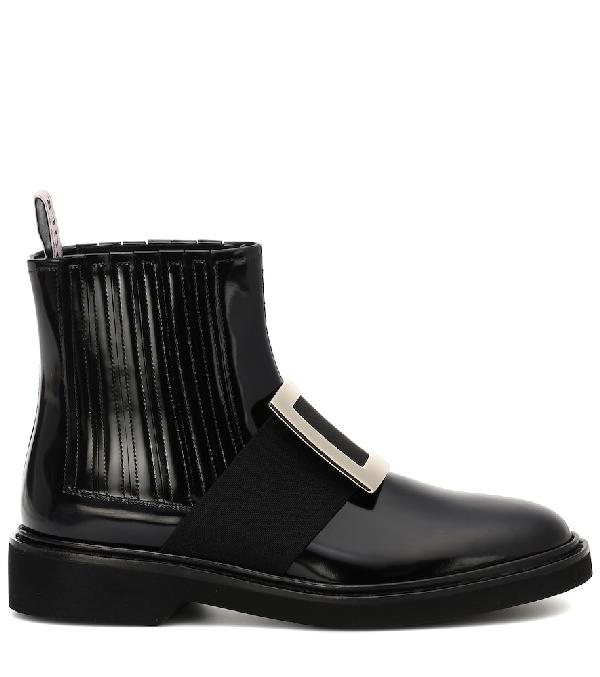 c6e1d57baa2 Chelsea Viv' Rangers Metal Buckle Ankle Boots in Black