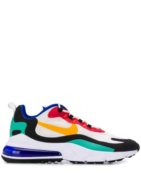 Nike Men S Air Max 270 React Low Top Sneakers In Blue Modesens