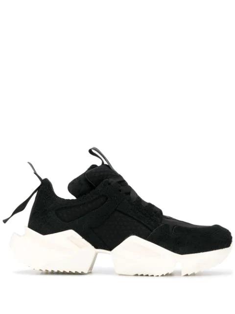 Unravel Sneakers Black In Ben Taverniti Project 1000 hxQtBdCsr