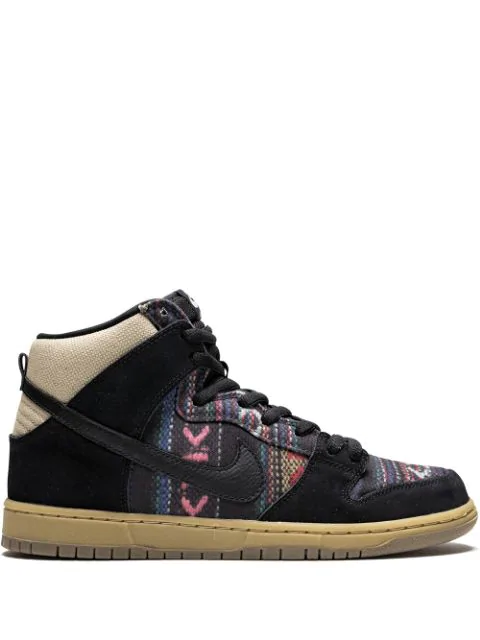 wholesale dealer 3ac26 59177 Nike Dunk High Premium Sb Sneakers - Schwarz in Black