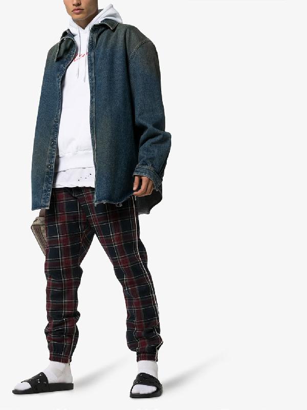 Gucci Supreme Black Cut-Out Rubber Sliders In 1000 Black