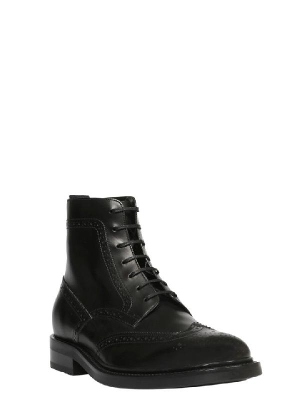 dc8e4eff0ca Saint Laurent Men's Liverpool Lu High-Top Boot In Black | ModeSens
