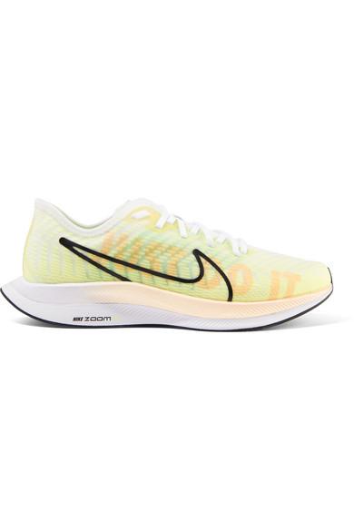 reputable site e105b 64079 Women's Zoom Pegasus Turbo 2 Running Shoes, Green - Size 8.0 in Yellow