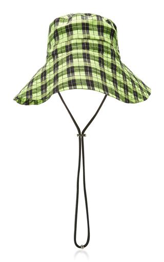 acfe0db0c Plaid Seersucker Bucket Hat in Yellow
