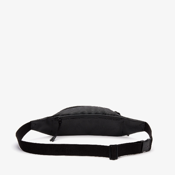 7d68c4400a Men's L.12.12 Concept Coated Petit Piqué Canvas Belt Bag in Black