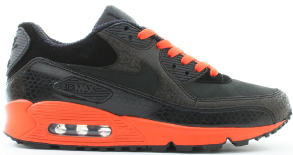 air max 90 black and orange