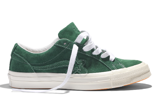 Pre Owned Converse One Star Ox Tyler The Creator Golf Le Fleur Mono Green In Greener Pastures White Modesens