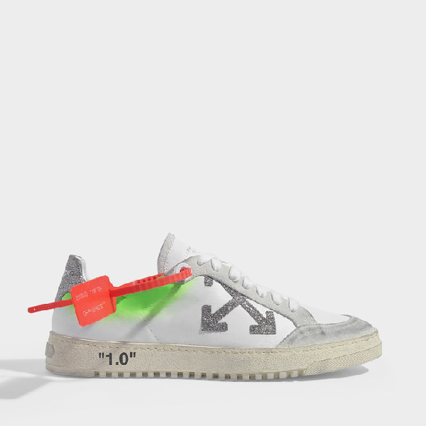 Off-White Off White | Arrow 2.0 Sneakers In White Calf Leather