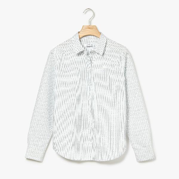 3bba25c986 Women's Regular Fit Oxford Cotton Shirt in White / Green / Light Blue /  Navy Blue