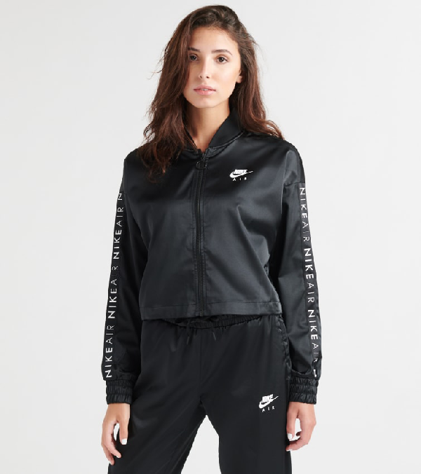 e0fe6c1a5 Air Satin Track Jacket in Black