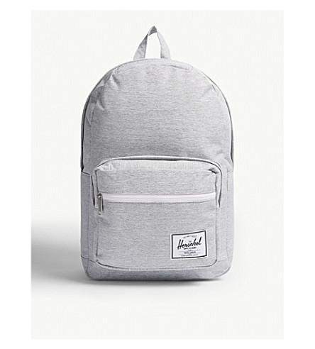 d343b7b78fad Pop Quiz Backpack in Light Grey Crosshatch