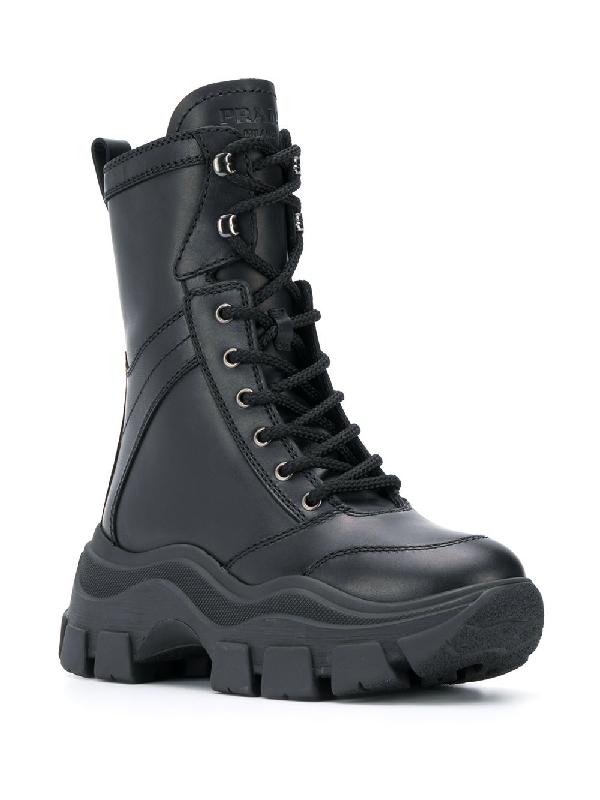 ff794c8de3d Lace-Up Combat Boots in Black