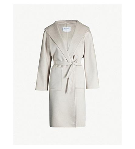 super popular limited guantity innovative design Lilia Brushed Cashmere Wrap Coat in 3