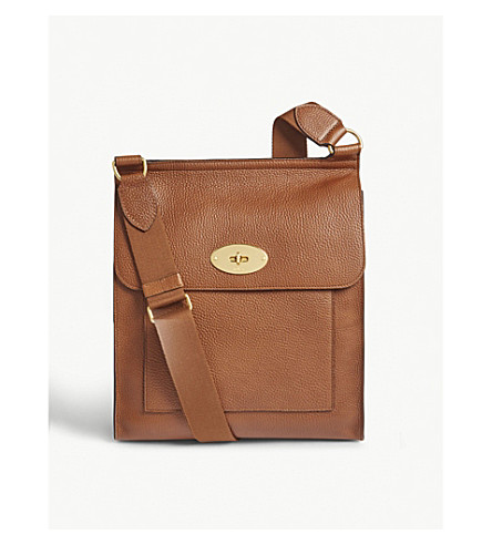 sale usa online lowest discount new appearance Mulberry Antony Leather Shoulder Bag In Oak | ModeSens