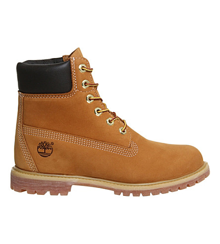 6 Inch Premium Lace Up Flat Boots