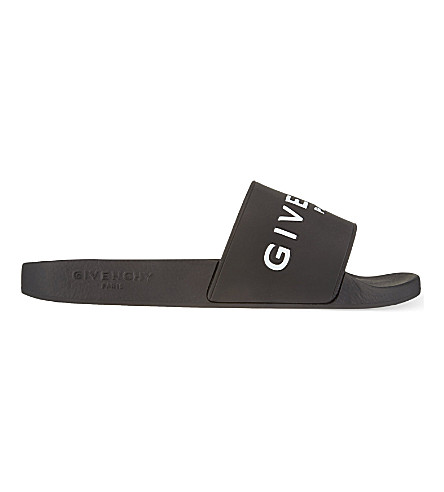 Givenchy Women's Be08209809001 Black Rubber Sandals
