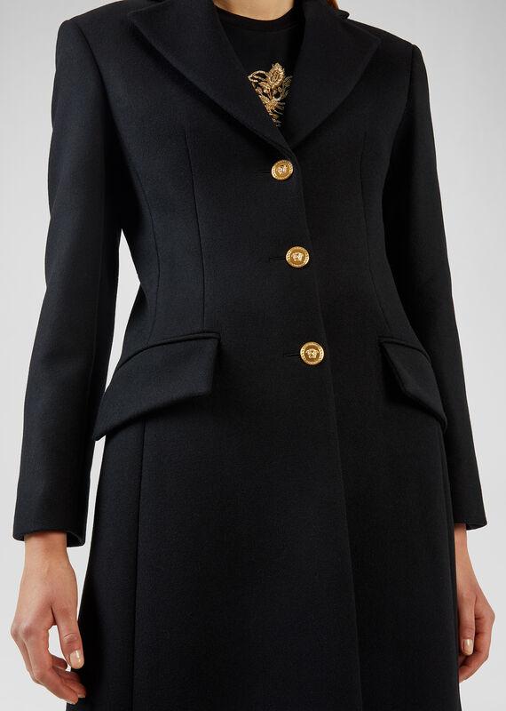 VERSACE Medusa Wool Coat