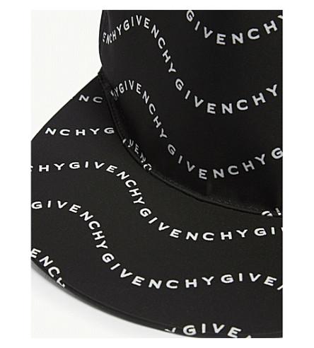 GIVENCHY LOGO PRINT NYLON SNAPBACK CAP